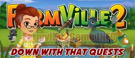 Farmville 2 Down With That Quests