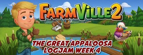 Farmville 2 The Great Appaloosa Logjam Week 4