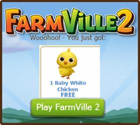 Farmville 2 FREE Baby Chicken