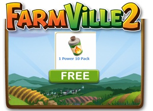 Farmville 2 FREE Power 10