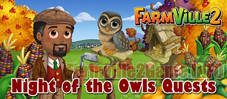Farmville 2 Night of the Owls