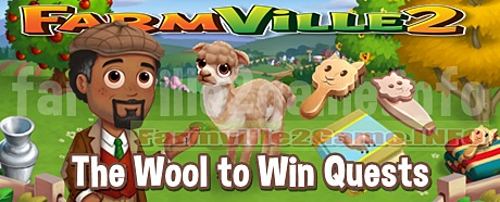 Farmville 2 The Wool to Win Quests