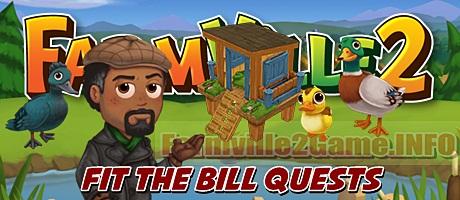 Farmville 2 Fit the Bill Quests