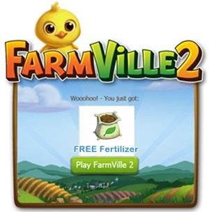 Farmville 2 Free Fertilizer