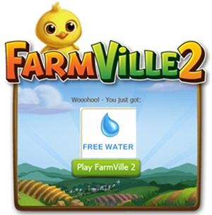 Farmville 2 Free Water