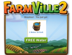 Farmville 2 FREE Water x 10