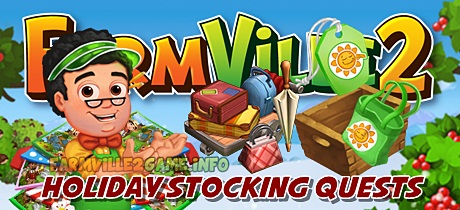 Farmville 2 Holiday Stocking Quests
