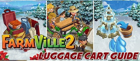 Farmville 2 Luggage Cart