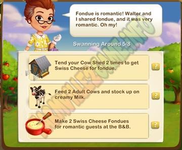 Farmville 2 Cheesey Romance Quest