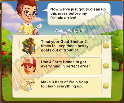 Farmville 2 Clean Sweep