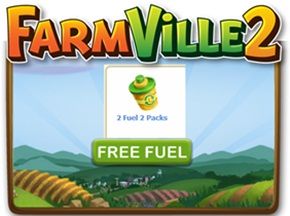 FREE Farmville 2 FUEL 2 Packs