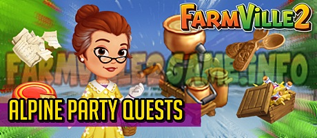 Farmville 2 Alpine Party Quests