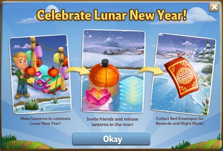Farmville 2 Celebrate Lunar New Year