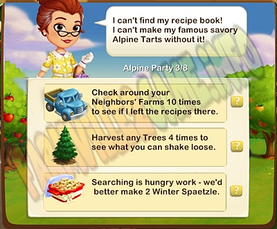 Framville 2 Missing Recipe!