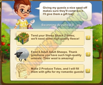 Farmville 2 Parting Gifts Quest