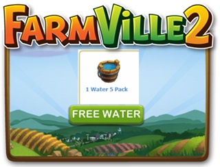 Farmville 2 FREE Water x5