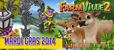 Farmville 2 Mardi Gras 2014