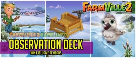 Farmville 2 Observation Deck