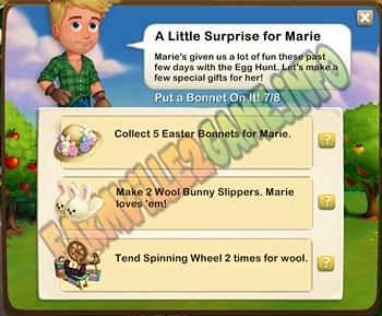 Farmville 2 A Little Surprise for Marie