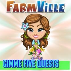 Farmville Gimme Five Mission