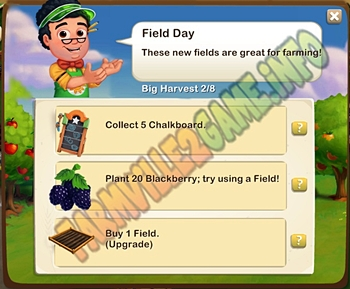 Farmville 2 Field Day