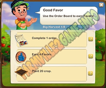 Farmville 2 Good Favor