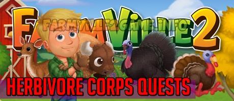 Farmville 2 Herbivore Corps Quests