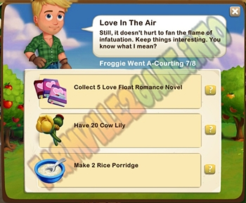 Farmville 2 Love In The Air