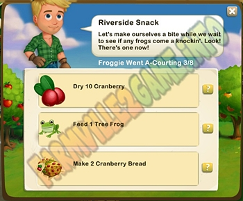 Farmville 2 Riverside Snack