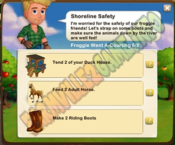 Farmville 2 Shoreline Safety