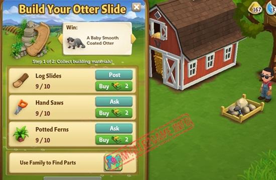 Built the Otter Slide