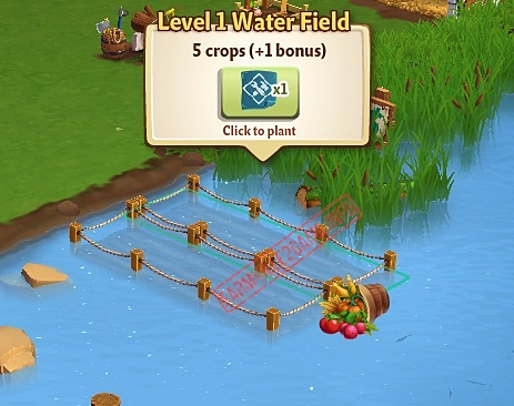 Level 1 Water Fields