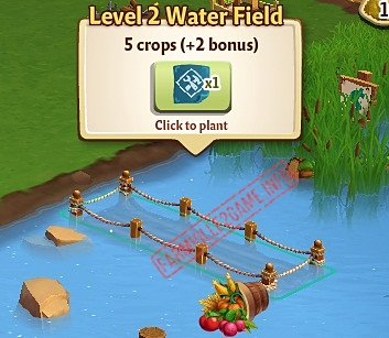 Level 2 Water Fields