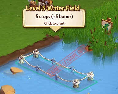 Level 5 Water Fields