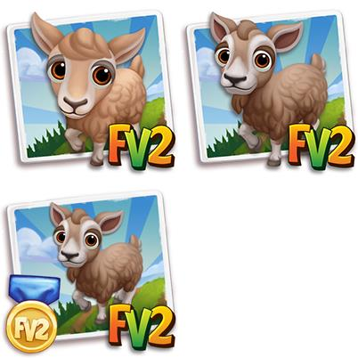 Brown Toggenburg Mini Goat