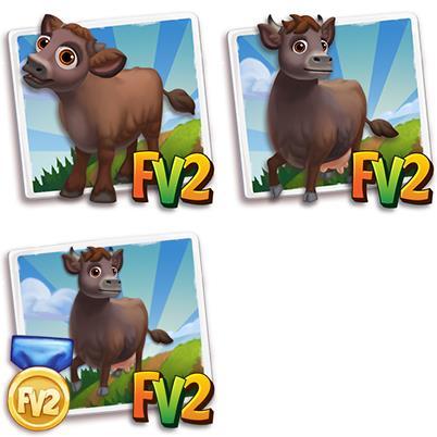 Rotvieh Harzer Mini Cow