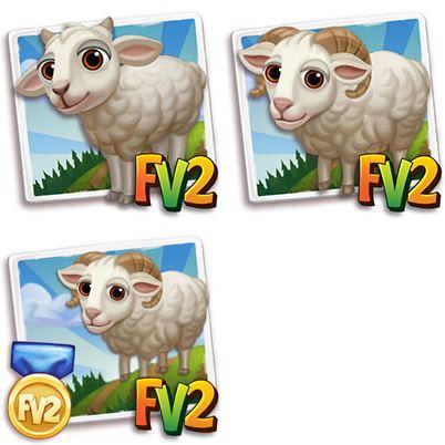 Whitefaced Woodland Sheep