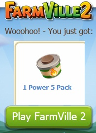Free Farmville 2 Power Packs
