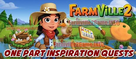 Farmville 2 One Part Inspiration Quests