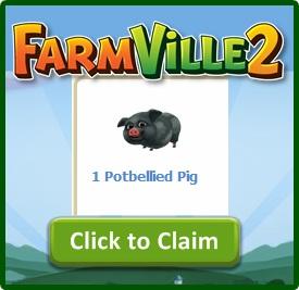 Farmville 2 Free Potbellied Pig