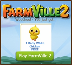 Farmville 2 FREE Baby Chicken