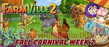 Farmville 2 Fall Carnival Week 2