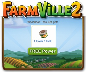 Farmville 2 FREE Power x5