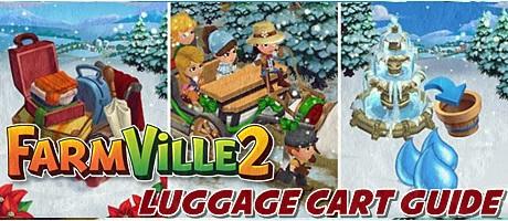 Farmville 2 Luggage Cart