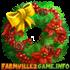 Flower Holiday Wreath