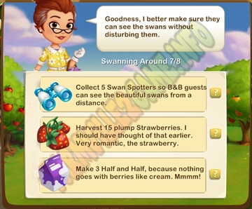 Farmville 2 Admired From Afar Quest