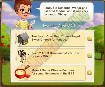 Farmville 2 Cheesey Romance Quest