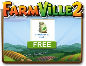FREE Farmville 2 Fertilizer