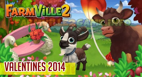 Farmville 2 Valentine 2014 Lists of Limited Edition Items