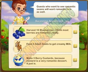 Farmville 2 It's Berry Romantic Quest
